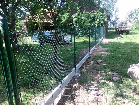 Pletivový plot 150cm, délka 50m, 2x brána
